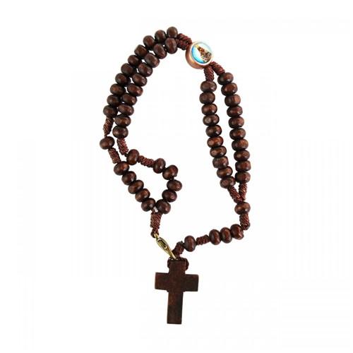 Terço de Pulso Nossa Senhora Aparecida | SJO Artigos Religiosos