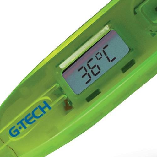 Termômetro Digital com Ponta Rígida IColor- THGTH150V - Verde - G-Tech