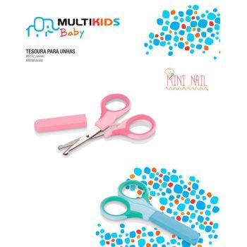 Tesoura para Unhas Infantil Mini Nail Menino Bb152 Multikids