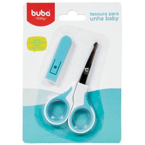 Tesourinha Azul para Unha Baby (0m+) - Buba BUBA5238-A TESOURA para UNHA BABY MENINO AZUL