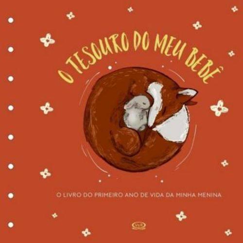 Tesouro do Meu Bebe - o Livro de Recordacoes - Capa Laranja