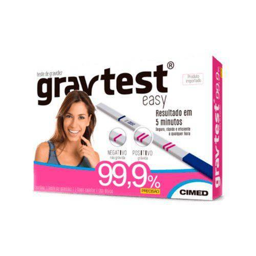 Teste de Gravidez Gravtest Easy - Cimed