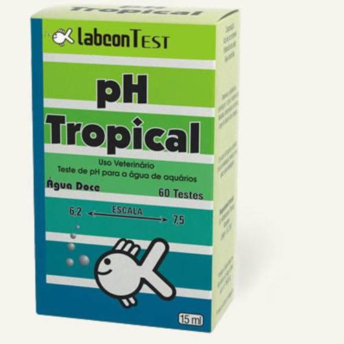 Teste de PH Labcon Tropical 15ml - 50 Testes