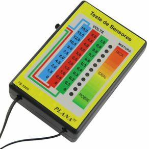 Teste de Sensores TSI1000 - Planatc