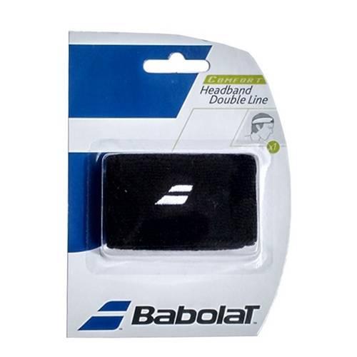 Testeira Babolat Double Line - Preto