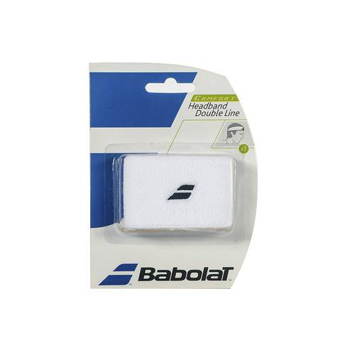 Testeira Babolat Headband - Branca
