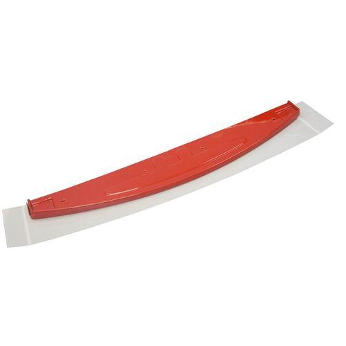 Testeira Expositor Metalfrio Vermelho