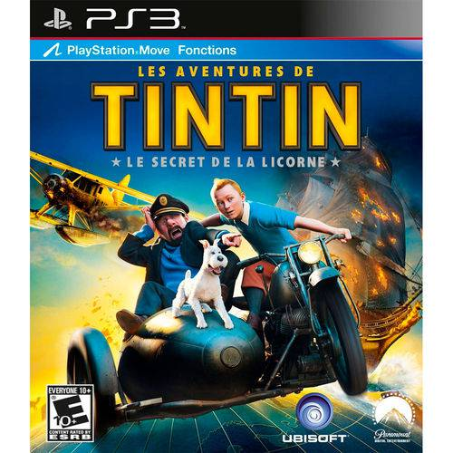 The Adventures Of Tintin The Game - Ps3