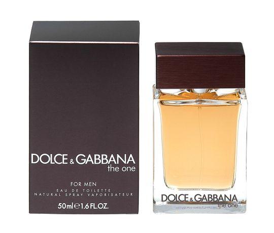 The One For Men de Dolce & Gabbana Eau de Toilette Masculino 50 Ml