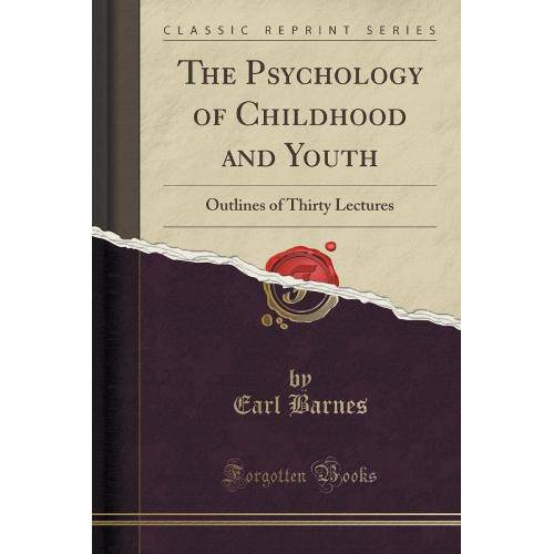 The Psychology Of Childhood And Youth