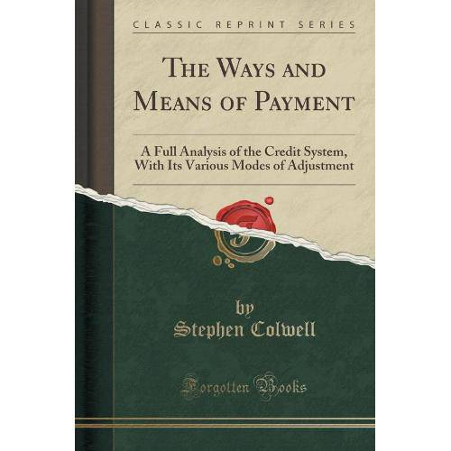 The Ways And Means Of Payment