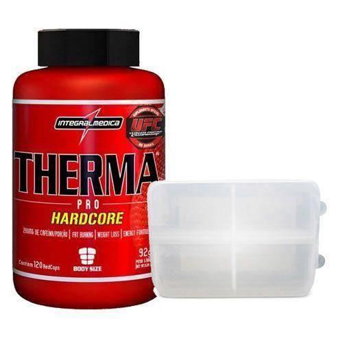 Therma Pro Hardcore - 60 Cápsulas + Porta Cápsula - Integralmédica