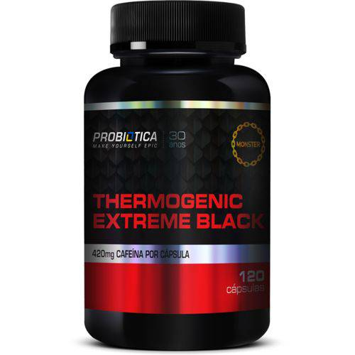 Thermogenic Extreme Black 120 Cápsulas Probiotica