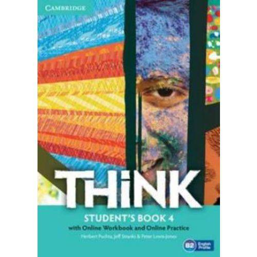 Think 4 Sb With Online Wb And Online Practice - 1st Ed