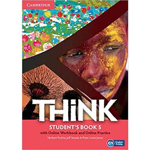 Think 5 - Student's Book With Online Workbook And Online Practice - Cambridge University Press - Elt