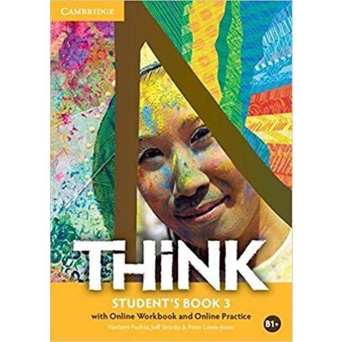 Think – Student'S Book 3 - With Online Workbook And Online Practice B1+