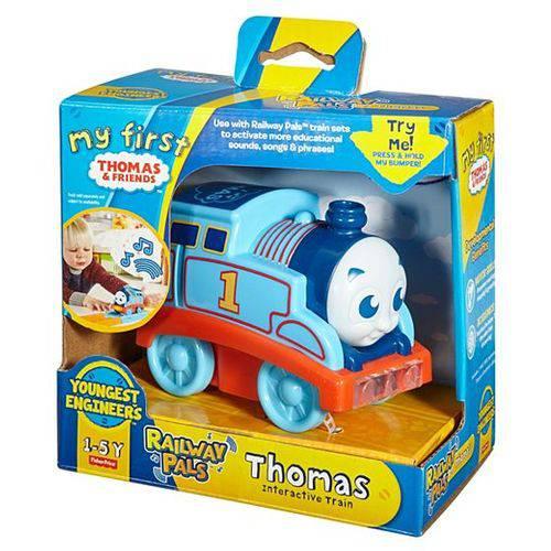 Thomas & Friends Locomotiva Thomas Interativo FVX57/FVX58 - Mattel