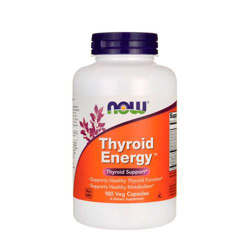 Thyroid Energy (90 Cápsulas Veganas) Now Foods