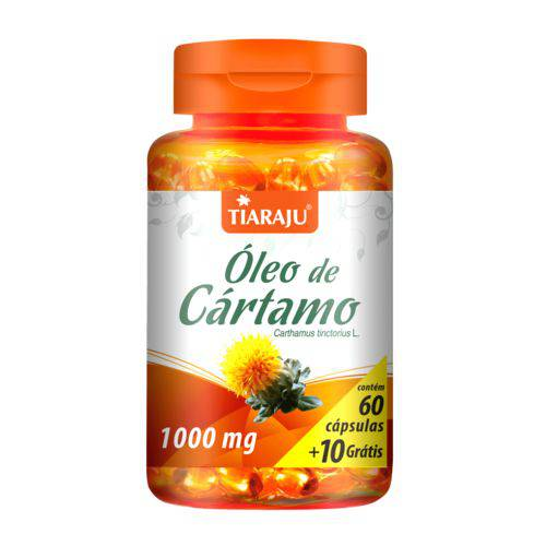 Tiaraju Oleo Cartamo 1000mg 60+10 Caps
