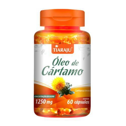 Tiaraju Oleo Cartamo 1250mg 60 Caps