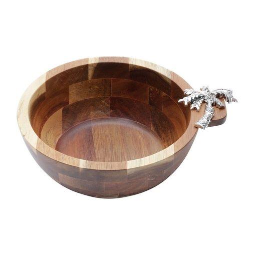 Tigela de Madeira 20cm Palmeira Bon Gourmet