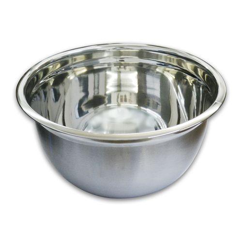 Tigela Inox Bowl Funda - 30 Cm