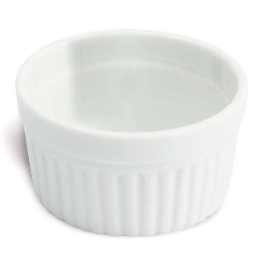 Tigela Pote Ramequin de Porcelana 50ml Branco Oxford