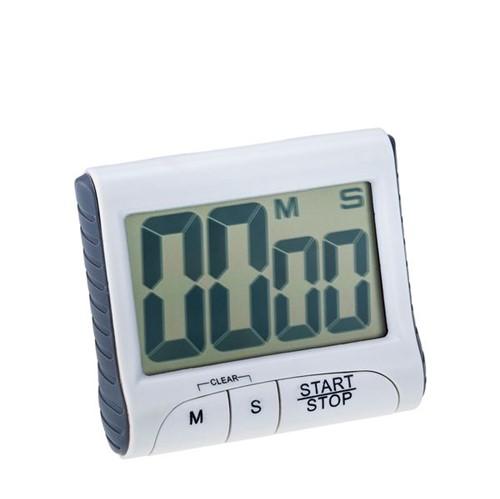 Timer Magnético Digital Weck LCD Branco 6X4CM - 32510