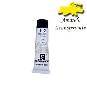 Tinta a Óleo Corfix 37ml Gr-ii Avulso Amarelo Transparente 110