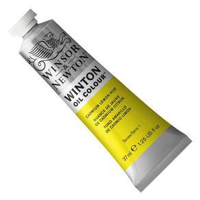 Tinta a Óleo Winton 37 Ml Winsor e Newton Avulso Cadmium Lemon Hue 87