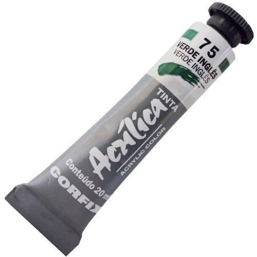 Tinta Acrilica Corfix 020 Ml Verde Ingles 80020-75