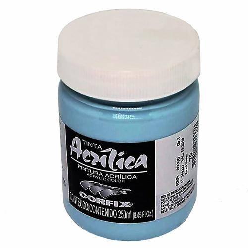 Tinta Acrílica Corfix Azul Real 250ml