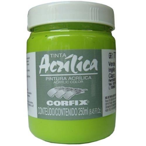 Tinta Acrilica Corfix Gr-i 250 Ml Verde Ingles 80300-75