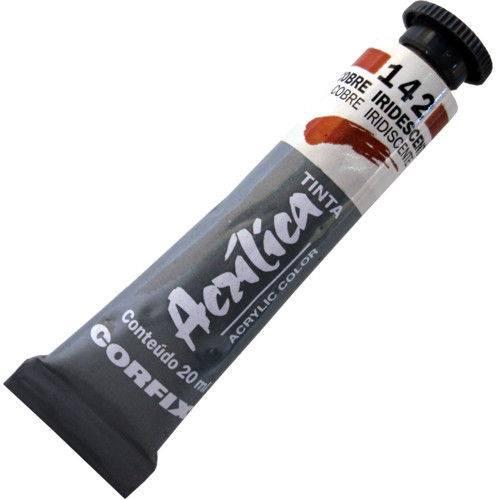 Tinta Acrilica Corfix Metalica Iridescente 020 Ml Cobre 810204-142