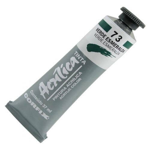 Tinta Acrílica Corfix Verde Esmeralda 37ml