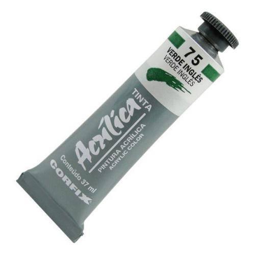 Tinta Acrílica Corfix Verde Inglês 37ml