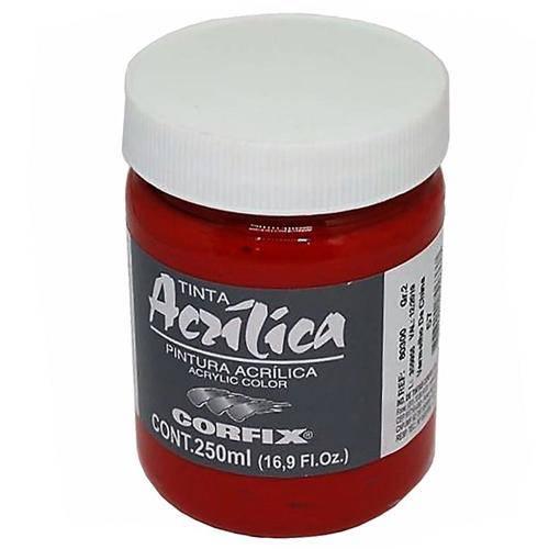 Tinta Acrílica Corfix Vermelho China 250ml