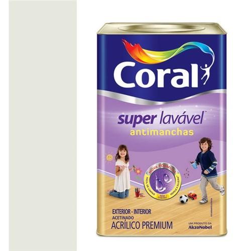 Tinta Acrílica Emborrachada Acetinada Super Lavável Gelo 18L - Coral - Coral