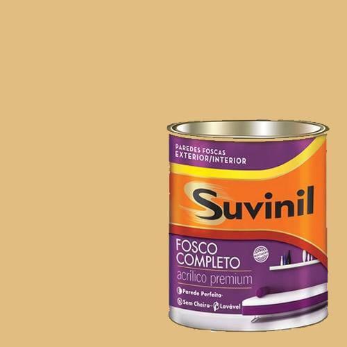 Tinta Acrilica Fosca Premium Suvinil Açúcar Orgânico 900ml.