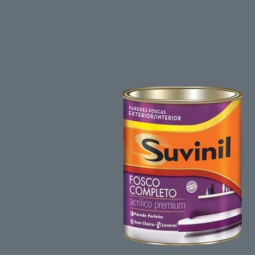Tinta Acrilica Fosca Premium Suvinil Hematita Bruta 900ml.