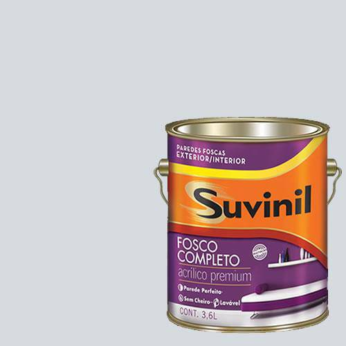 Tinta Acrilica Fosca Premium Suvinil Honestidade 3,6L.