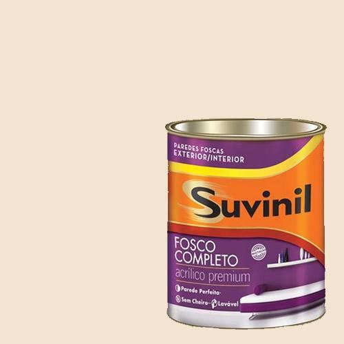 Tinta Acrilica Fosca Premium Suvinil Leite Condens