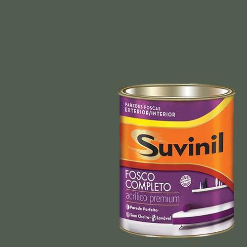 Tinta Acrilica Fosca Premium Suvinil Montanha Encantada 900ml.