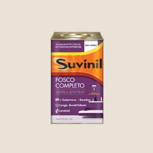 Tinta Acrílica Fosco Completo Suvinil 18 Litros Algodão Egípcio