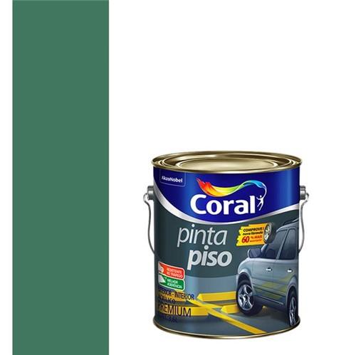 Tinta Acrílica Fosco Pinta Piso Verde 3,6L - Coral - Coral