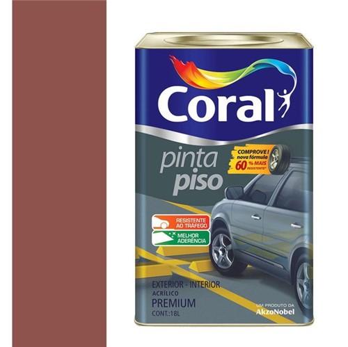 Tinta Acrílica Fosco Pinta Piso Vermelho 18L - Coral - Coral