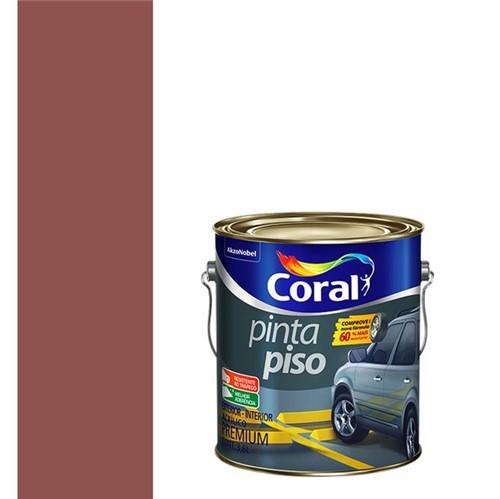 Tinta Acrílica Fosco Pinta Piso Vermelho 3,6L - Coral - Coral