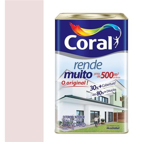 Tinta Acrílica Fosco Rende Muito Rosa Boneca 18L - Coral - Coral