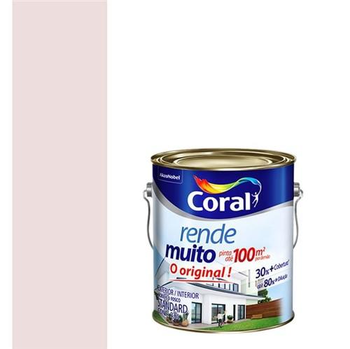 Tinta Acrílica Fosco Rende Muito Rosa Boneca 3,6L - Coral - Coral