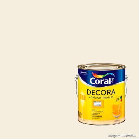 Tinta Acrílica Premium Decora 3,6L Fosco Branca Coral